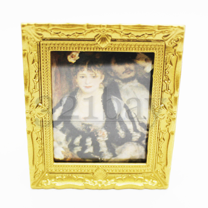 Dollhouse Paintings 1 12th Scale Frame