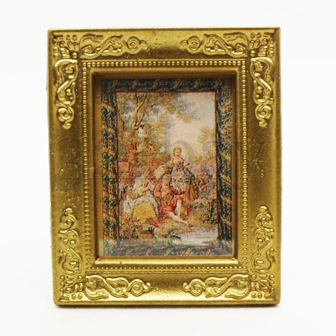 Miniatur Gemälde & Puppenhaus Bilder | Puppenhaus Dekoration