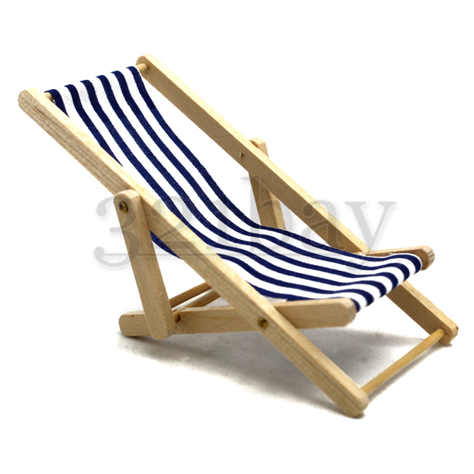 Fairy Garden Furniture | Miniature Beach Chair