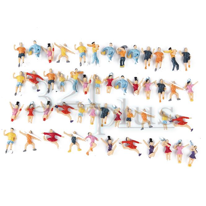 Modellbau Figuren 1:87 | Miniatur Athleten