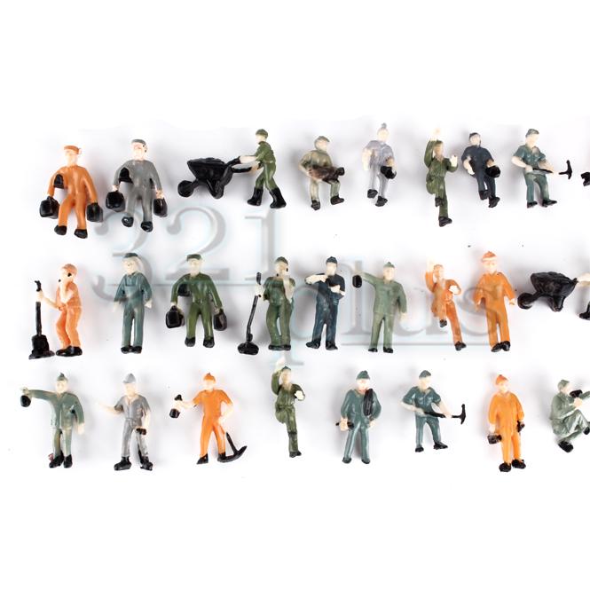 Modelleisenbahn Figuren H0 | 1:87 Arbeiter