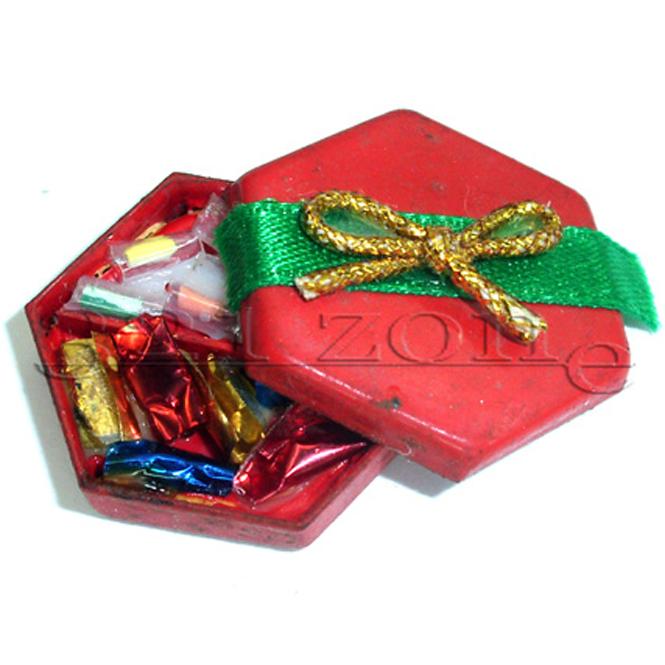 Valentinstag Geschenk Basteln mit Miniatur Pralinenschachtel 1zu12 für