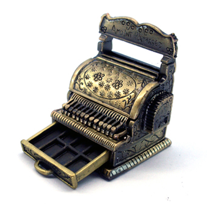 Miniature Cash Register | Dolls 1:12 Scale Supplies