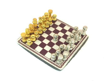 Miniature chess board | tiny chess set