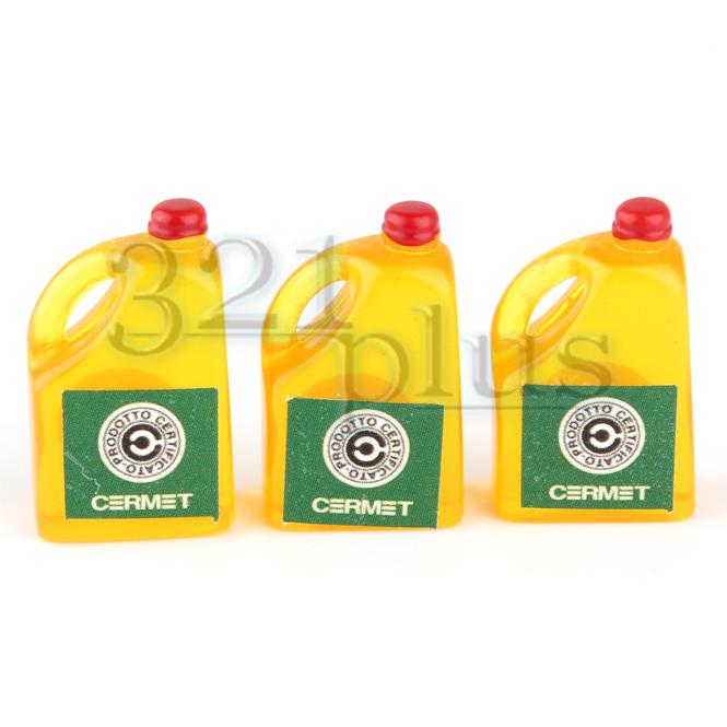 Puppenhaus Miniatur Flaschen & Mini Speiseölflaschen
