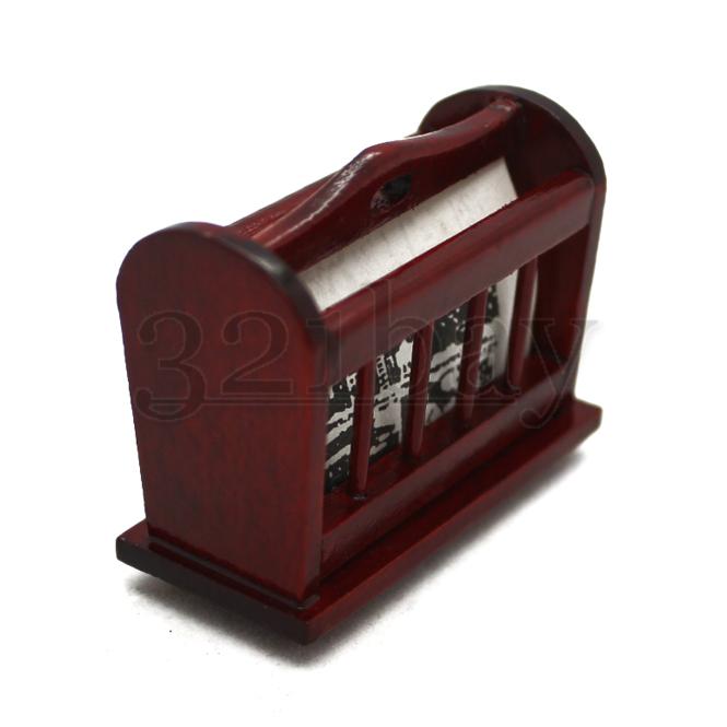 miniature newspaper, miniature news rack