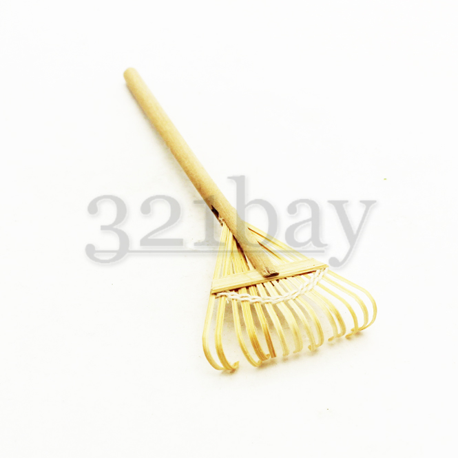 Miniature Rake | Fairy Garden Tools