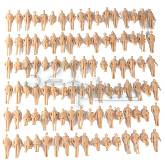 Sitting & Standing Men | 1:32 Scale Plastic Models