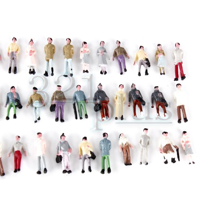 1:220 Scaled Figures for Z Gauge Model Trains