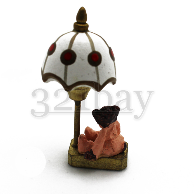 Inch Scale Nursery Dollhouse Lamp | 321-miniature.com