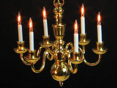 Lampen f r puppenhaus 1zu12 puppenhaus kronleuchter for Lampen puppenhaus