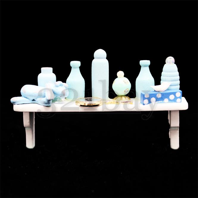 regal und zubeh r f r puppenhaus badezimmer 321. Black Bedroom Furniture Sets. Home Design Ideas