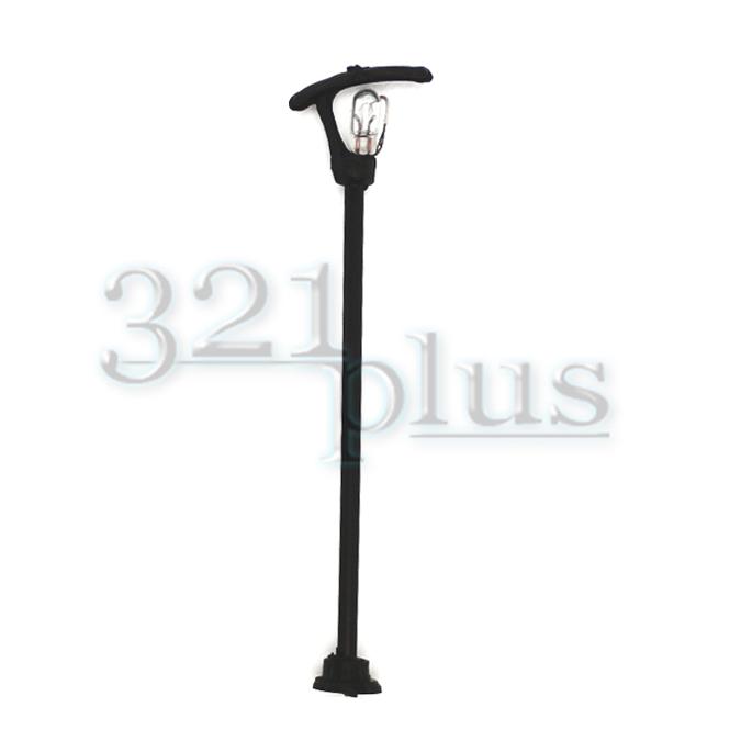 Mini Street Lamp Post 10 pcs of 6V AC Model Railway and Park Lighting HO Gauge