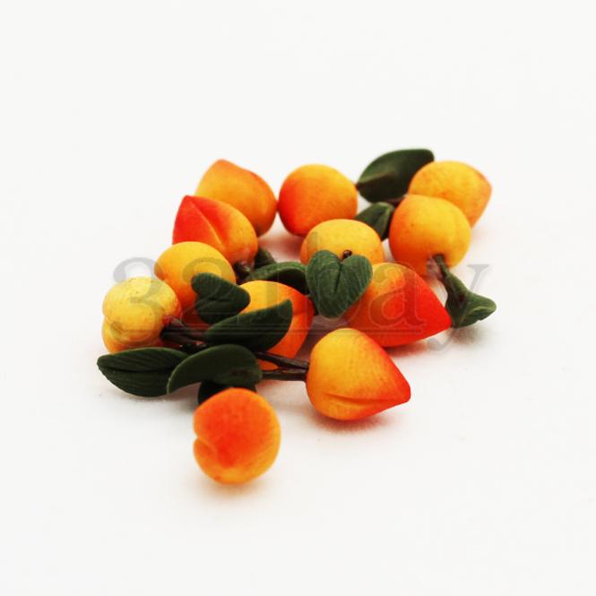Gemeinsame Deko selber machen mit Deko Obst | Deko Mini Pfirsich | 321 @BH_08