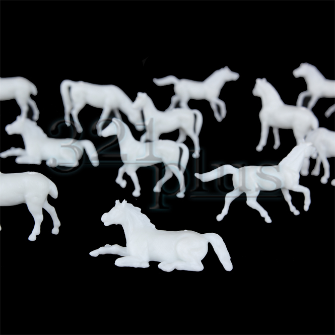 HO Scale Horses | Model Railway Farm Animals
